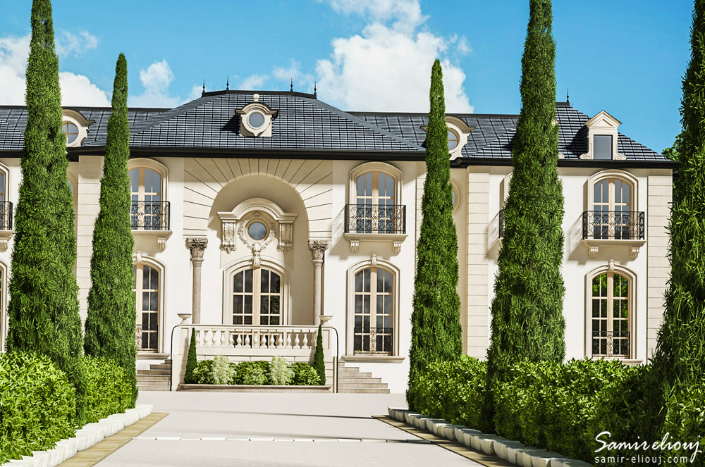 Entr E Villa Rabat House Samir Eliouj 3d Graphiste