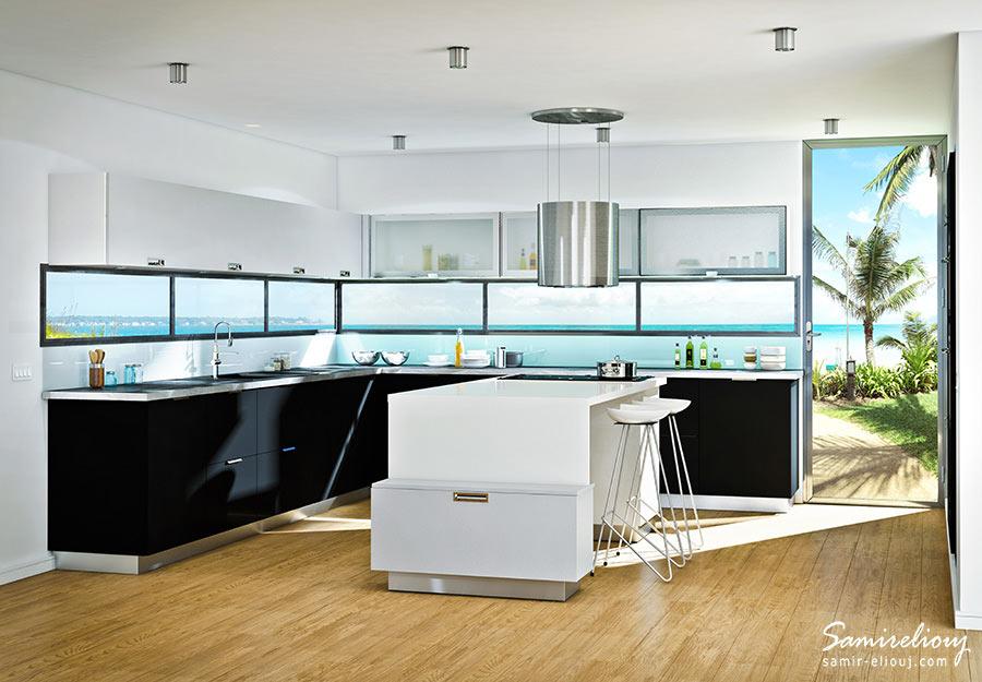Cuisine D LIVIO Paris France ArtDesign Architecture - Cuisine legrand