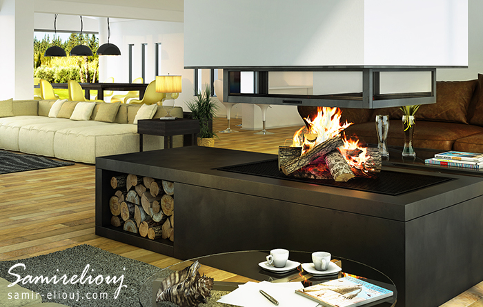 The Fire Place Design ≠02