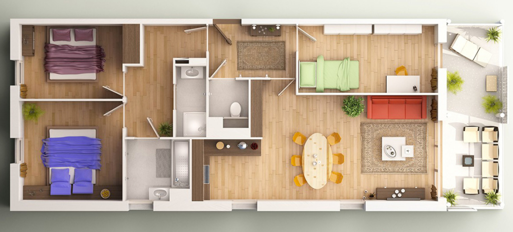 Plan D Appartement D IdeePlanDAppartementChambres  Plans